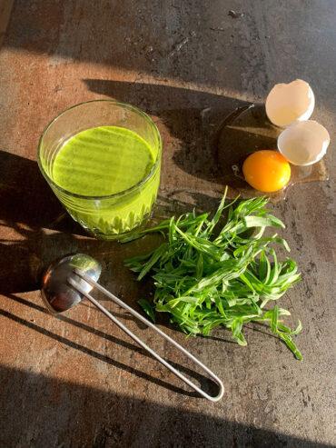 grøn mayo